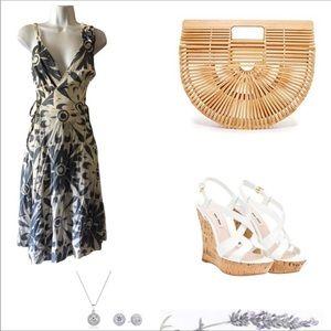 Corey Lynn Calter Anthropologie Wrap Dress